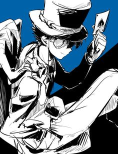 Manga Anime, Anime Guys, Anime Art, Conan Movie, Detektif Conan, Magic Kaito, Tsubaki Chou Lonely Planet, Kaito Kuroba, Detective Conan Wallpapers