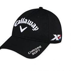 2e9535635a3 Callaway Golf 2016 Mens Tour Authentic TA Performance Pro Cap - Black Callaway  Hat