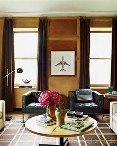 Masculine Nate Berkus living room #livingrooms #nateberkus