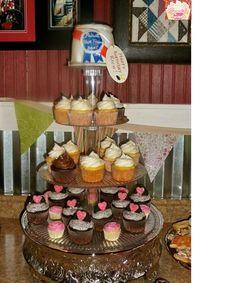 Fun wedding cupcakes and PBR grooms cake!