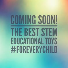 Proud to bring the best educational toys #foreverychild