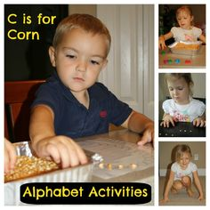 C is for Corn: ABC, Math, Music & Art Activities
