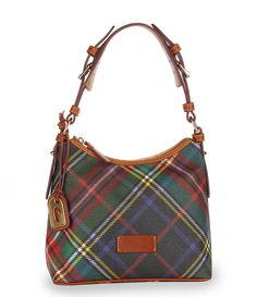 Dooney and Bourke Plaid Lucy Hobo. Dooney Bourke, Dillards, Purses And Bags, Plaid, Shoulder Bag, Handbags, My Style, Purses, Totes
