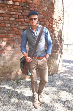 Gant Shirt, Calvin Klein Pants, Zara Jacket, Fossil Watch