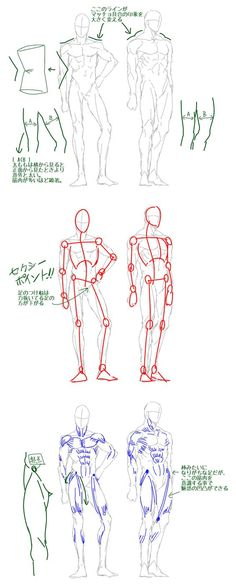 Exceptional Drawing The Human Figure Ideas. Staggering Drawing The Human Figure Ideas. Male Figure Drawing, Human Drawing, Figure Drawing Reference, Body Drawing, Anatomy Reference, Art Reference Poses, Drawing Poses, Drawing Tips, Drawing Tutorials