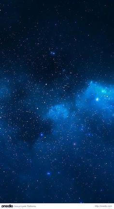 Night Sky Star Background Material Blue Night sky stars