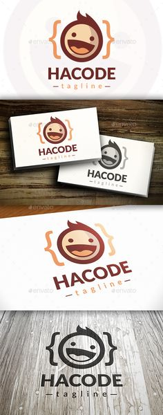 Geek Code Logo — Vector EPS #cute face #eye glasses • Available here → https://graphicriver.net/item/geek-code-logo/9692706?ref=pxcr