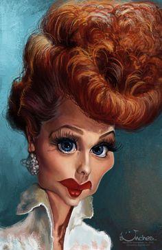 Lucille Ball by creaturedesign.deviantart.com on @deviantART