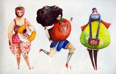 The Girlyveggiefruit Alphabet - aitch
