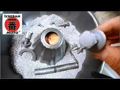 How to make a Vibrating Parts Tumbler Rust Remover and Polisher for café racer parts - YouTube
