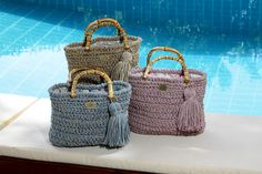 Matoohandmade Juta Tote Bag Luxury Bags, Straw Bag, Tote Bag, Crochet, Jute, Carry Bag, Chrochet, Tote Bags, Crocheting