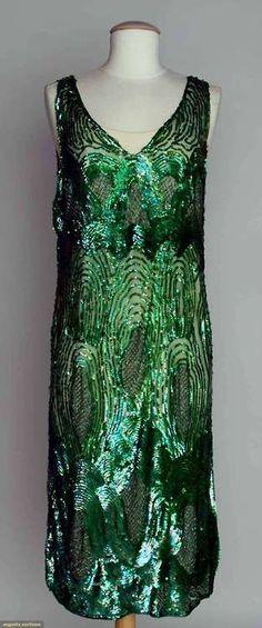 Dress, 1920s, Augusta Auctions