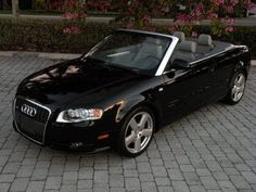 """Auto Haus of Fort Myers is offering this 1 FL Owner, Recently Serviced & Inspected, 2009 Audi A4 2.0T Convertible with only 30k Miles for $25,900. It comes nicely equipped with a Brilliant Black Exterior, Grey Leather Interior, 2.0L Turbocharged Inline-4, Automatic Transmission, Sports Package (Sport Suspension, 18"""" Alloy Wheels, Sport Steering Wheel) & Much More.  Call Auto Haus of Fort Myers for more details 239-337-4287.  www.autohausfm.com"""