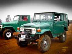 Pics of Green FJ40s - The BEST color. - show us what you have!! | IH8MUD Forum