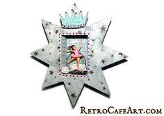 By Kristin Hubick using the Star Shrine Kit from www.RetroCafeArt.com