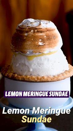 Fun Baking Recipes, Lemon Recipes, Sweet Recipes, Snack Recipes, Dessert Recipes, Cooking Recipes, Frozen Desserts, Easy Desserts, Delicious Desserts