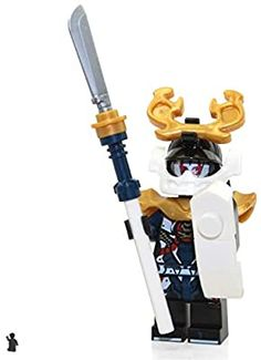 Amazon.com: LEGO Ninjago Minifigure - Samurai X - Sons of Garmadon (Limited Edition) Foil Pack: Toys & Games Lego Ninjago, Outdoor Power Equipment, Samurai, Sons, Packing, Home Appliances, Amazon, Games, Bag Packaging