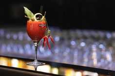 An enjoyably Sicilian version of one of the most famous cocktails in the world: Blody Mary. Made with vodka, fresh cherry tomato juice, freshly squeezed Sicilian lemon juice, Worcester sauce, chilli pepper, Pantelleria capers, black olives and basil
