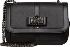 Christian Louboutin Small Sweet Charity Shoulder Bag in Black