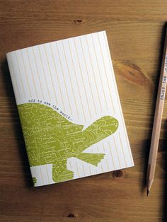 Tortuga Travel the World Recycled Pocket Notebook by #earmarksocialgoods