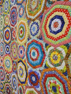 Chris Kenna: Millefiori detail world quilt show florida 20… | Flickr