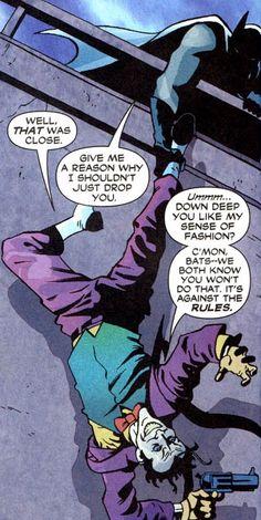 Batman/Joker... we need each other