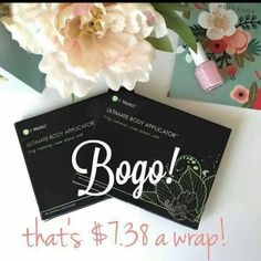 Guess what!!! It's back You have been asking me if #BOGOwould be here, so now is your chance!   Text me 727-484-0190 ‼️‼️‼️ BOGO‼️‼️‼️ Buy one box of wraps  get a second box  for FREE that is 2 boxes (8 wraps) for only $59 (less than $8 a wrap!) for loyal customers  See comments for real people, with real results pictures