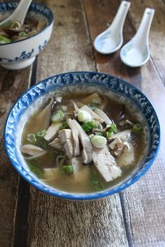 Fuchsia Dunlop's Sour and Hot Mushroom Tofu Soup is a healthy, lighter version of a Chinese take-out favorite. With four types of mushrooms, it's hearty enough as its own meal, or the perfect compliment to a feast. It's comforting and impressive, and this large batch will leave you with plenty to freeze for future bowls. | www.tastyoasis.net