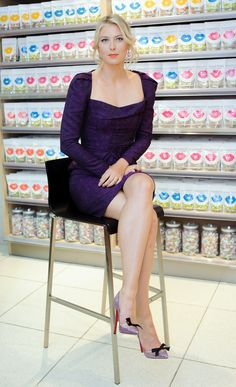 Maria Sharapova attends the 'Sugarpova' candy launch in Azbuka Vkusa store - 29.04.2013