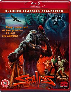 SCALPS BLU-RAY 88 FILMS SLASHER CLASSICS COLLECTION SPINE #19