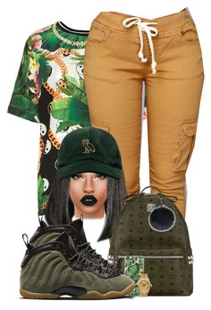 """""""On my P's and Q's"""" by chiamaka-ikaraoha ❤ liked on Polyvore featuring Topshop, October's Very Own, MCM, NIKE, Casetify, Lime Crime and Rolex"""