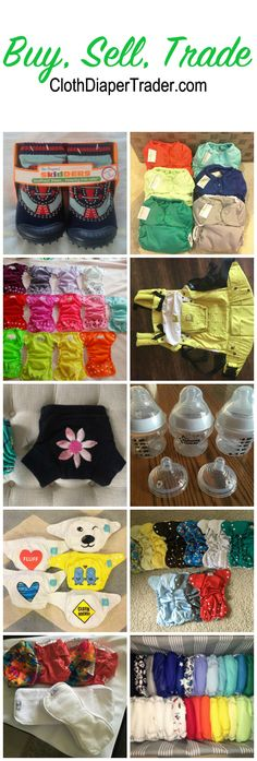 List your new and used cloth diapers, children's clothing, toys, books, breastfeeding items & more!