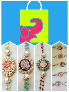 This #Rakshbandhan we have got the amazing and limited collection of #designer/ #HandPainted/ #Enameled / #Gemstone / #Silver & #Gold #Rakhies #neverbeforeinRaipur. This is one of the style we have available #easybazaar. Grab them before any one else today only along with many gifting option for your beloved sibling. Stay tuned for more.  Like and share.  Easy Bazaar Shankar Nagar main road Raipur.