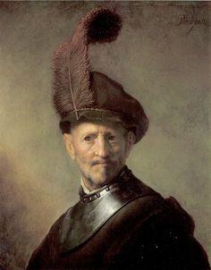Van Rijn Rembrandt -An Officer 1629-1630