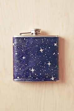Galaxy Vegan Leather Flask - Urban Outfitters