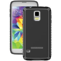Samsung(R) Galaxy S(R) 5 Tactic Case (Black/Charcoal)
