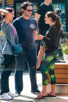 """leamichele-news: """" """"Lea, Phillipa Soo, and Steven Pasquale at SoulCycle (August 31, 2016) """" """""""