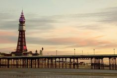 Blackpool Tower and pier