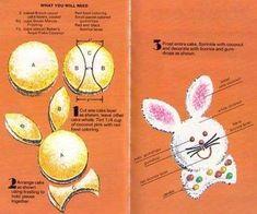 Come fare una torta a forma di coniglio.