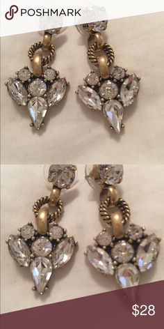 J Crew statement earrings Classic statement earrings for everyday or a special occasion J Crew Jewelry Earrings