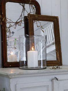 better homes and gardens hurricane vase | Glass Hurricane Vase - L - Nordic House