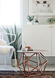 The Home Depot is tapping select DIY bloggers for a challenge and you won't believe the submissions they've highlighted so far. DIY Challenge: Pipe boasts an early showing of serious skills.DIY Side Table with Himmeli Base of Copper PipeThis gorgeous table by Brittany Cramer of brittanyMakes was ins...