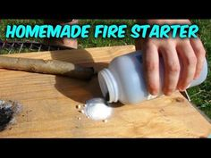How to Start a Fire with Sugar (Without Matches) #survival #preppers