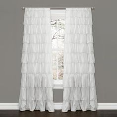Lush Decor Ruffle Window Curtain Panel, 84 by 50-Inch, White Lush Decor http://www.amazon.com/dp/B00FGHRDXE/ref=cm_sw_r_pi_dp_TE8Ltb1NY28J8N5C