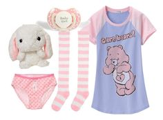 """""""Daddy's Little Girl"""" by vengeful-one ❤ liked on Polyvore featuring Uniqlo and ddlg"""