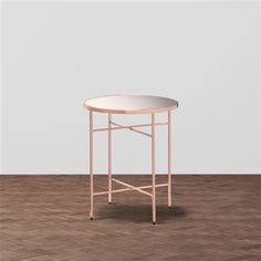 【W425】マタン サイドテーブル コッパー(コッパー) Francfranc(フランフラン)公式サイト|家具、インテリア雑貨、通販