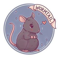 ✨Wormtail! ✨ Not the biggest fan of Peter but he was a Marauder and rats are so cute!! :3  • #peterpettigrew #peter #pettigrew #wormtail #marauder #marauders #maraudersera #cute #kawaii #chibi #instaart #instaartist #instadaily #illustrationoftheday #illustration #digitalpainting #digitalart #harrypotterart #harrypotter #harrypotterfanart #hogwarts