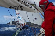 Race 5 Day 1: Bumpy start to Race 5 for Clipper Race fleet