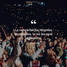 "awesome Citation - Confucius ""La nature fait les hommes semblables, la vie les rend différent... Check more at https://listspirit.com/citation-confucius-la-nature-fait-les-hommes-semblables-la-vie-les-rend-different/"