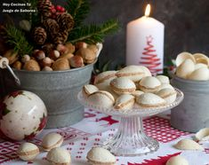 Christmas Eve, Christmas Cookies, Flan, Holidays And Events, Dairy, Gluten Free, Thanksgiving, Cheese, Table Decorations